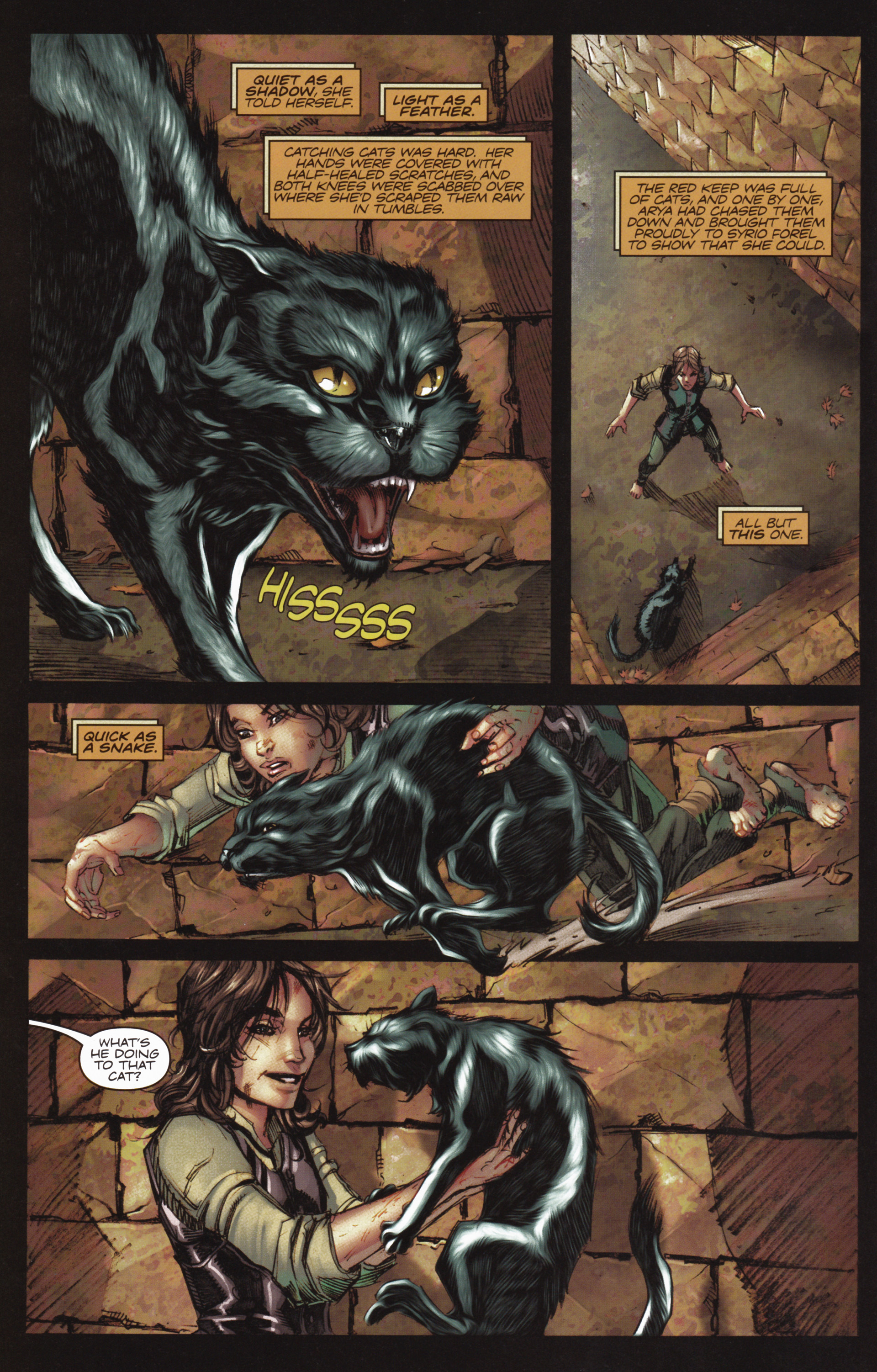 Read online A Game Of Thrones comic -  Issue #10 - 14