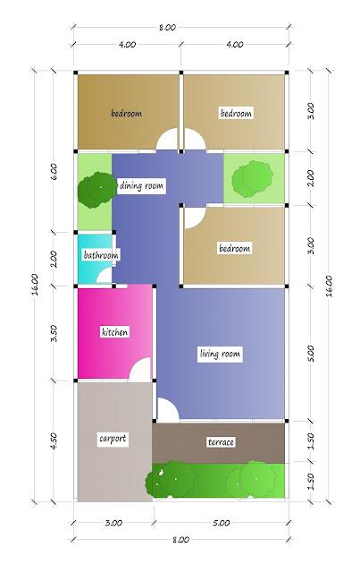 floor plan of beautiful house plan 26