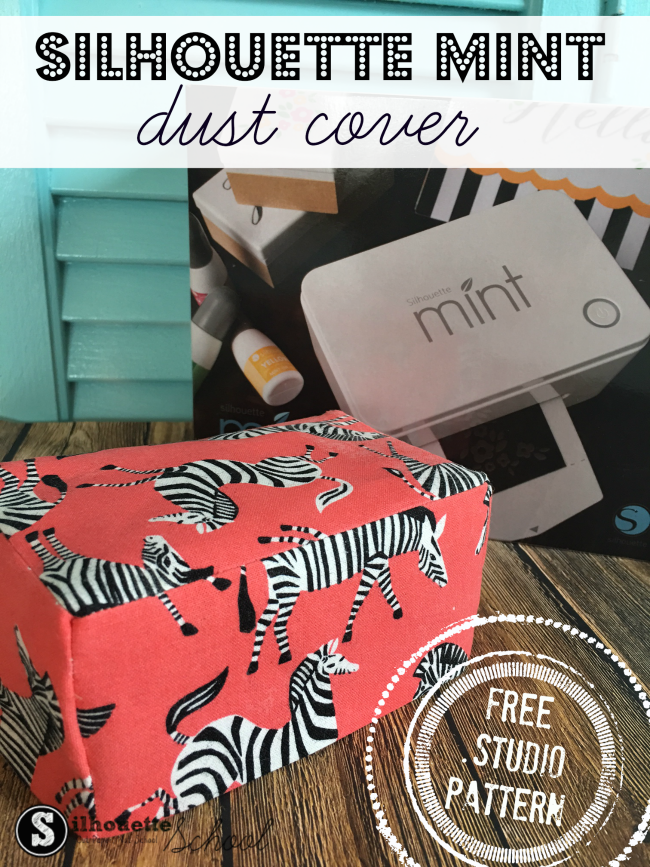 fabric cover silhouette mint stamp machine