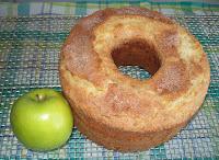 Budín de manzana