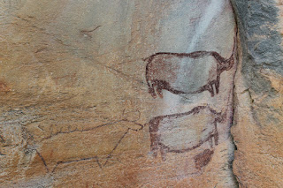 Tsodilo cueva del Rinoceronte