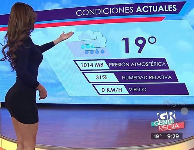 Fitness Model Yanet Garcia get on television