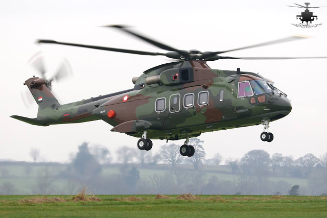 INDONESIAN AW101 HELICOPTER MAKES MAIDEN FLIGHT
