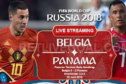 Live Streaming Belgia vs Panama 18 Juni 2018