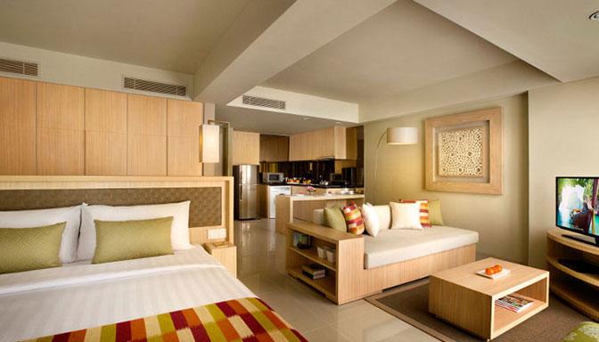 Kamar Hotel Citadines Bali