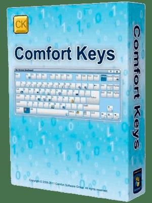Comfort On-Screen Keyboard Pro Box Imagen
