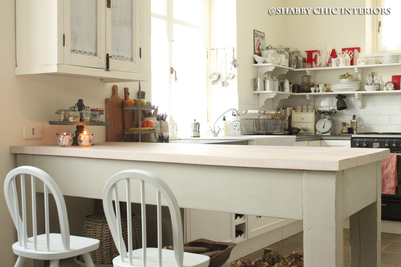 Il bancone della mia cucina shabby chic interiors - Bancone per cucina ...