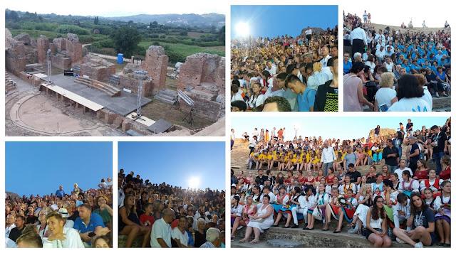 Πρέβεζα: Στο Ρωμαϊκό Ωδείο της Αρχαίας Νικόπολης, έπεσε η αυλαία του 36ου Διεθνούς Χορωδιακού Φεστιβάλ Πρέβεζας - Φώτο