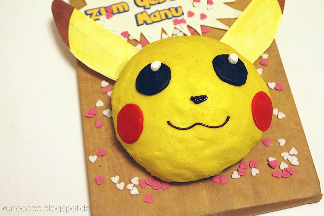 rezept pikachu kuchen kunecoco. Black Bedroom Furniture Sets. Home Design Ideas