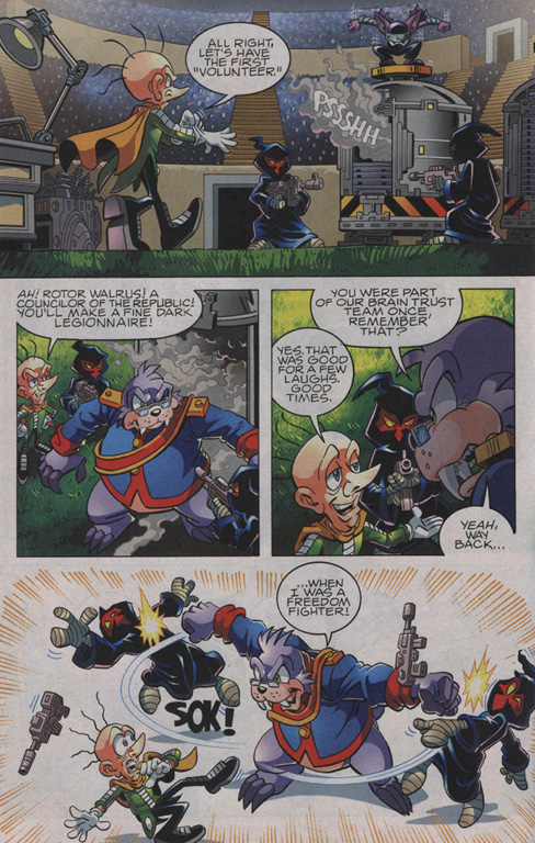 Read online Sonic The Hedgehog comic -  Issue #210 - 16