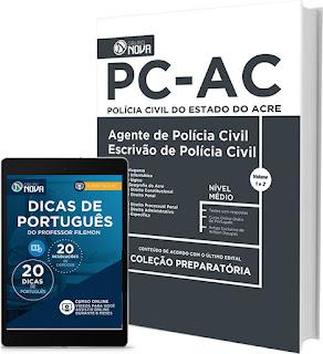 Apostila concurso PCAC 2017 Auxiliar de Necropsia