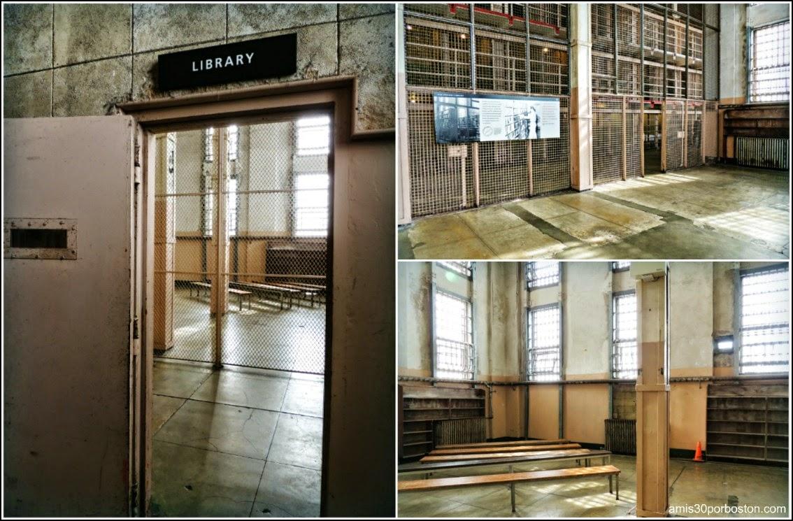 La Prisión de Alcatraz: Biblioteca