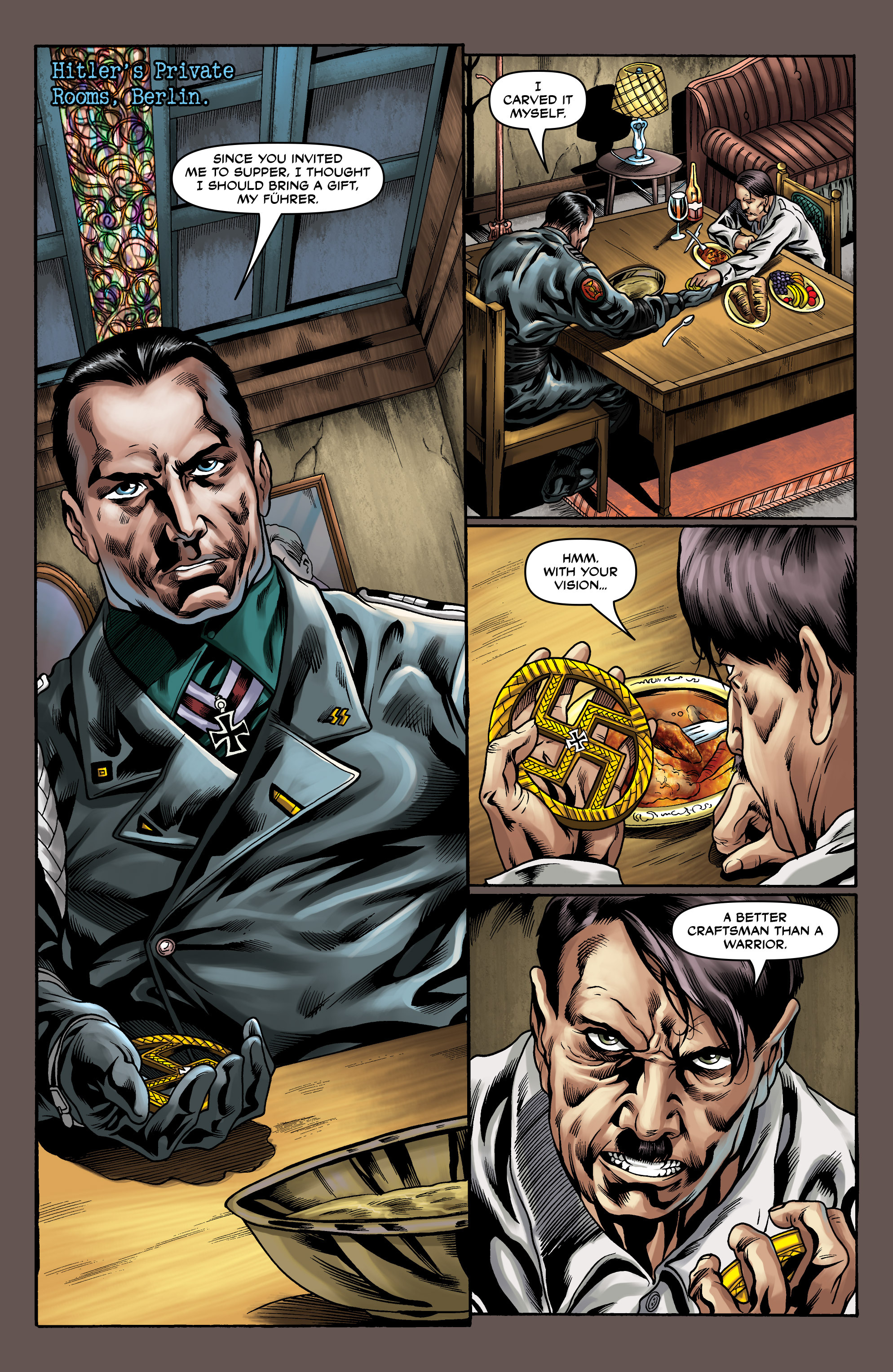 Read online Uber comic -  Issue #10 - 22