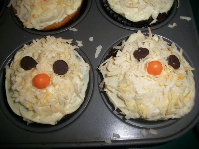 Spring Chicks, Chick Cupcakes,