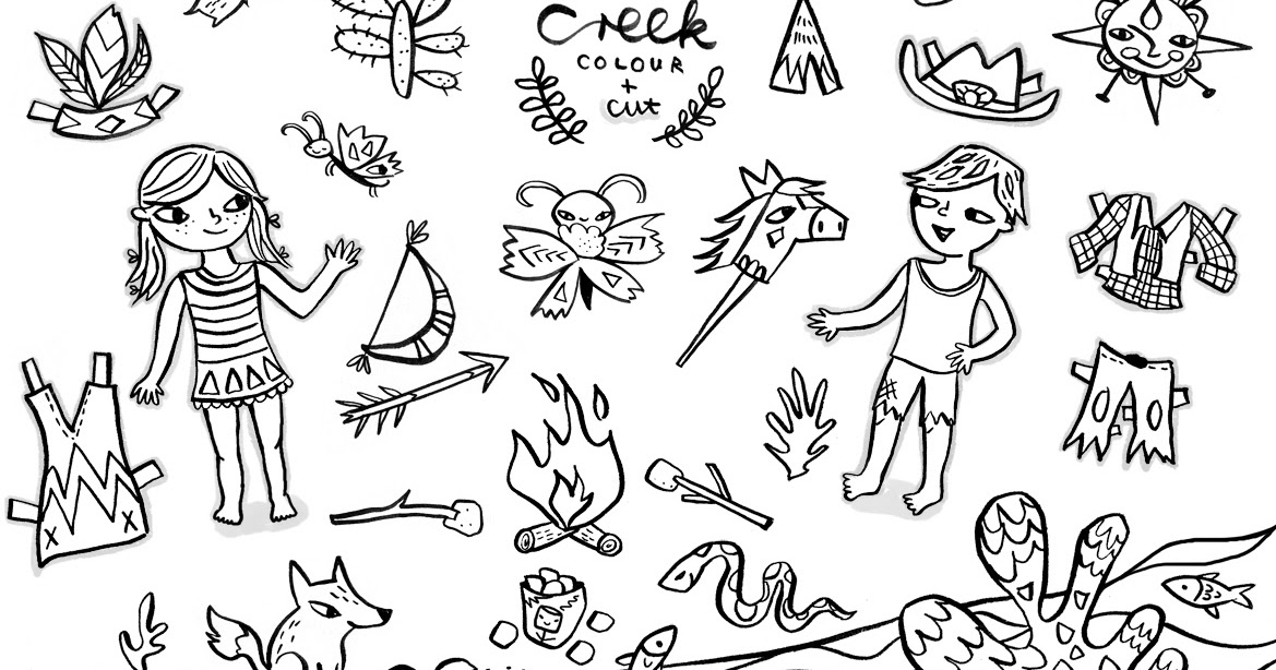 Christiane Engel - Scrapbook: Acorn Creek Colouring Page