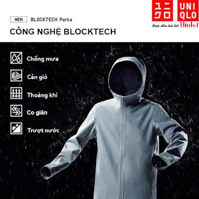 áo chống nắng Uniqlo thông minh