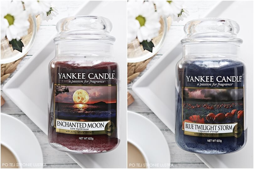 yankee candle enchanted moon i blue twilight storm