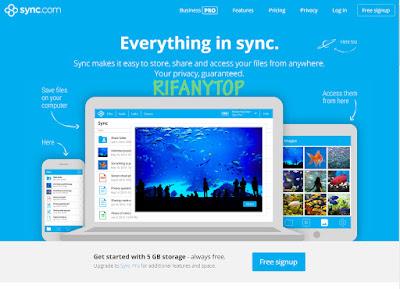 sync Situs Penyimpanan Data Onlene Terbaik Rifanytop