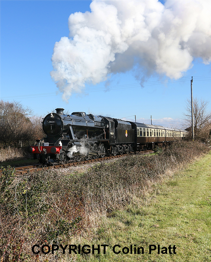 ALONG WINWICK LINES: SVR, WSR and SDR Steam