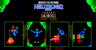 NEOTRONIC SHOW por Teatro Negro FX  2