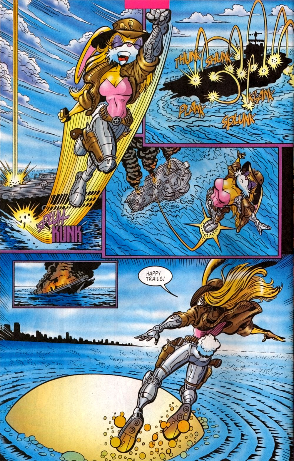 Read online Sonic The Hedgehog comic -  Issue #133 - 20