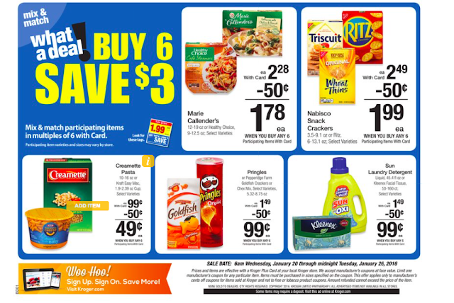 Kroger Ad Scan starting 1/20! | A Single Coupon