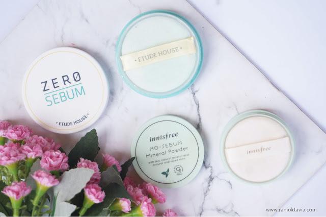 Review Indonesia Innisfree No Sebum Mineral Powder