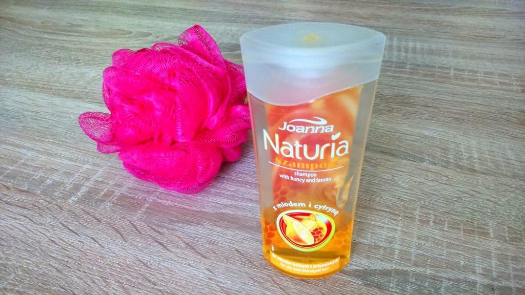 szampon miodowo-cytrynowy joanna naturia