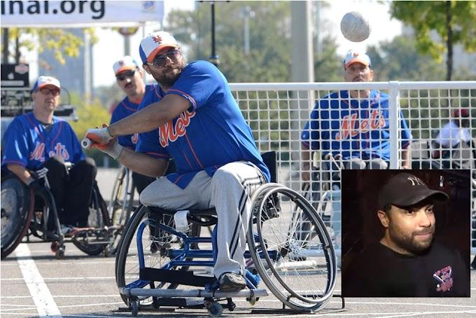 Dominicano minusválido  brilla en EEUU  como estrella de softbol  jugando en silla de ruedas