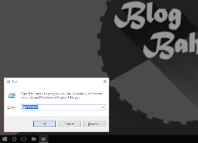 Cara Prohibited Aplikasi Windows Lewat Gpedit.msc