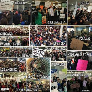 Οι διαδηλωτές που νίκησαν τον Τραμπ