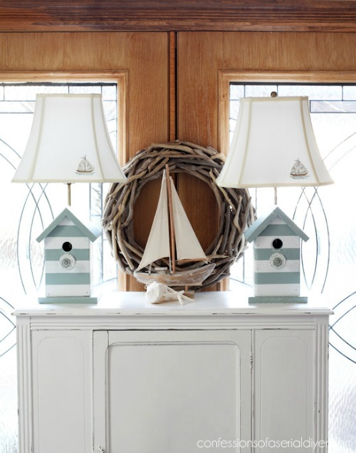Birdhouse Table Lamps
