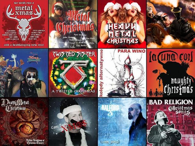 rockowe i metalowe piosenki świąteczne