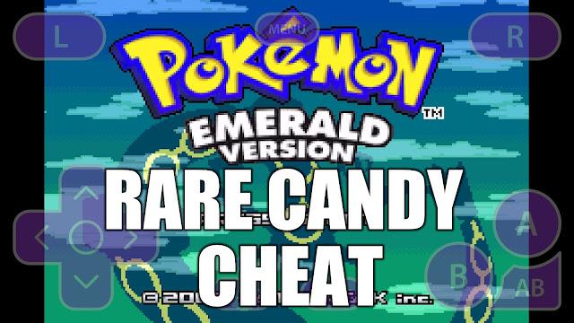 gameshark pokemon crystal rare candy