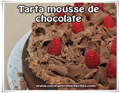 Receta de tarta mousse de chocolate✅Un postre perfecto y fácil de preparar para los amantes del chocolate, será la más deliciosa que saborearas en tu vida.