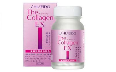 Công dụng bất ngờ của collagen shiseido ex Nhật Bản