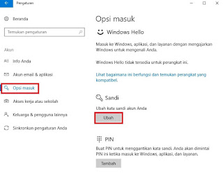 Cara Menonaktifkan Password Desktop Pada Laptop Asus Windows 10