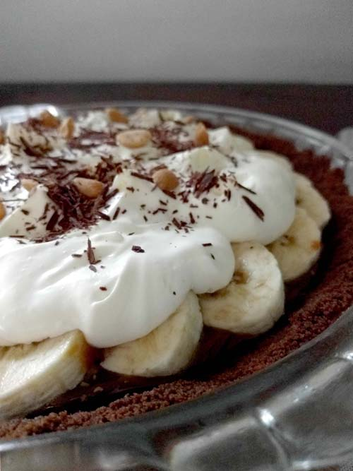 chocolate banoffee pie, de Gail Simmons Bringing it home