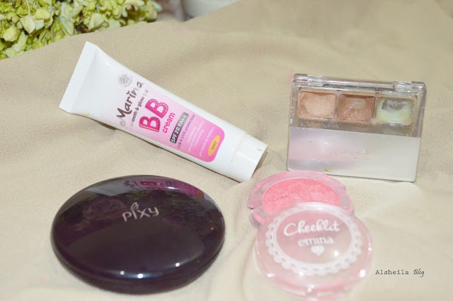 marina BB Cream, pixy kosmetik, wardah, dan emina