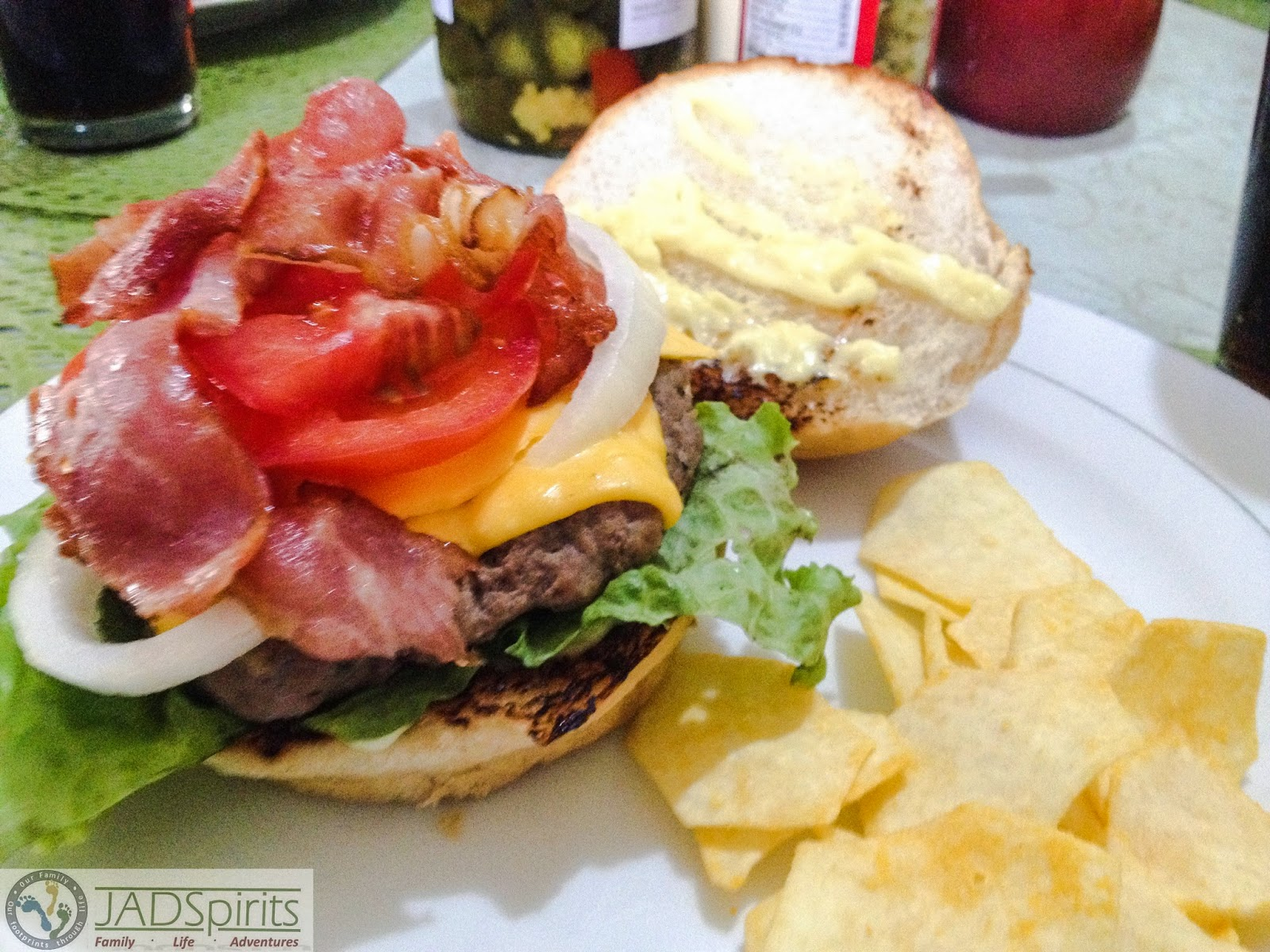 family, food, recipe, burger