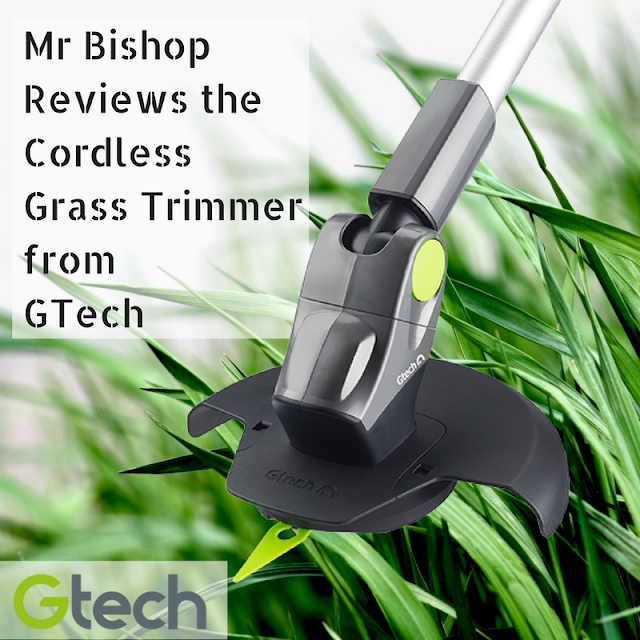 Mr Bishop reviews the Cordless Grass Trimmer from GTech