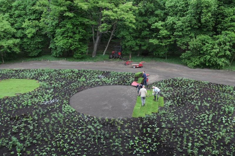 Diseño plantacion jardín vivaces de Piet Oudolf en Museo Voorlinden
