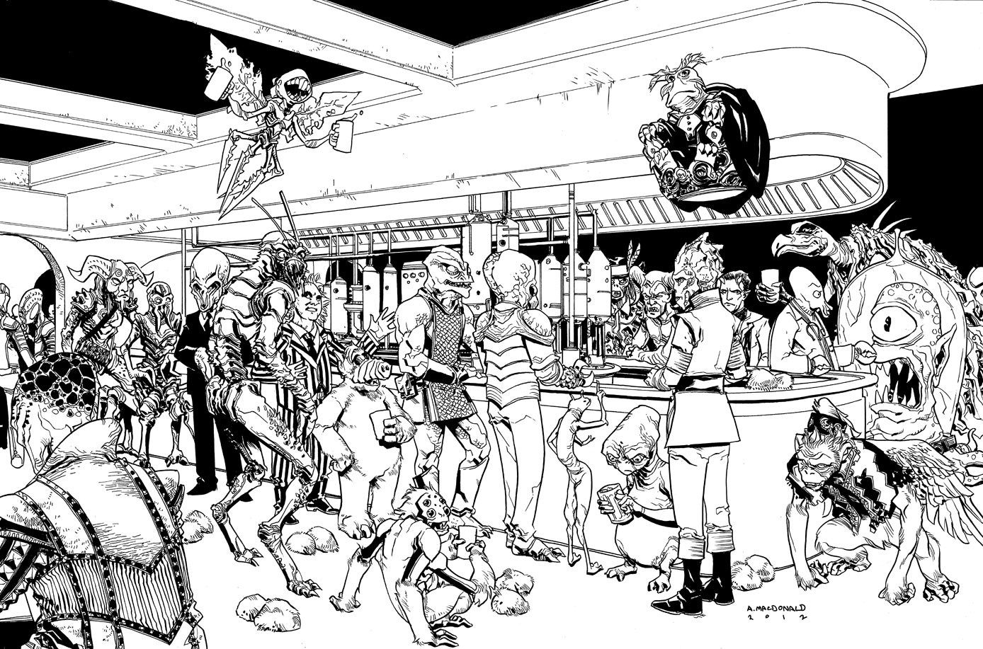 mos eisley and coloring pages - photo#3