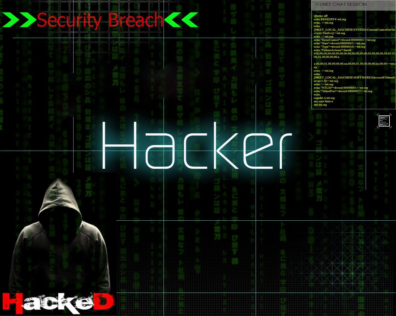 Gambar Wallpaper Hacker Keren