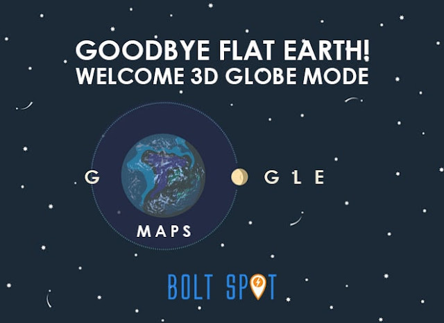 Selamat Tinggal Bumi Datar! Google Maps Kini Hadir dengan Tampilan Baru 3D Globe Mode