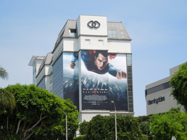 Giant Man of Steel billboard Sofitel Hotel