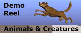 2014 Demo Reel - Animals & Creatures