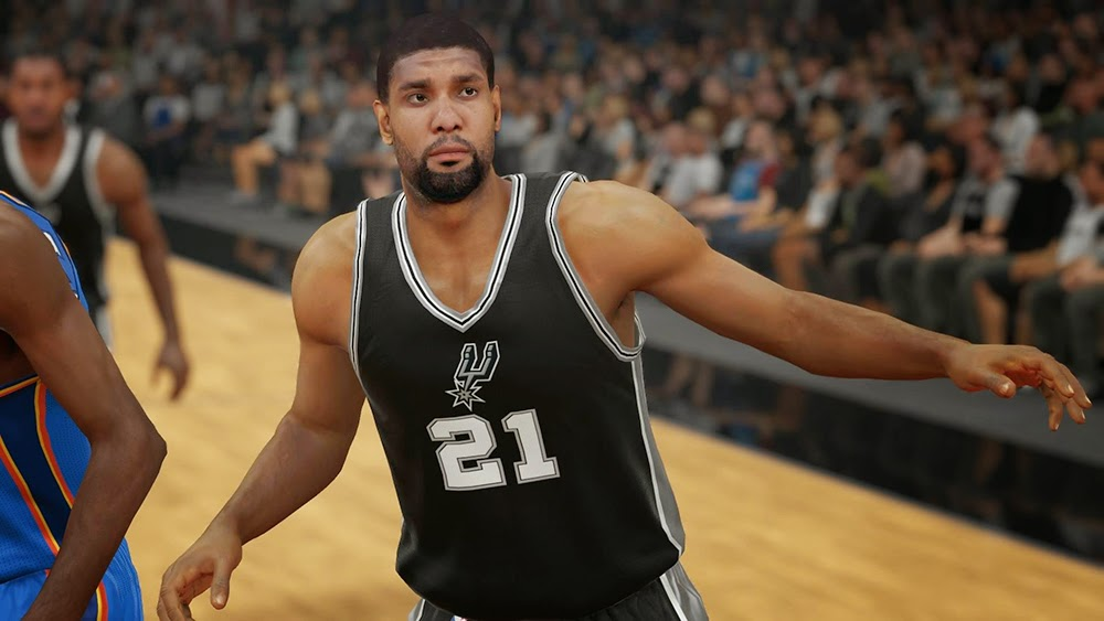San Antonio Spurs Christmas Jersey | NBA 2K15