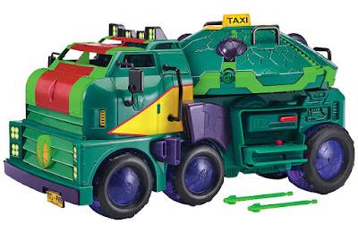 RISE OF THE TEENAGE MUTANT NINJA TURTLES Turtle Tank : Vehículo 2 en 1 - Camión Tanque Tortuga  Nueva serie de las tortugas Tortugas Ninja 2018 Producto Oficial Serie Nickelodeon | A partir de 4 años   COMPRAR ESTE JUGUETE