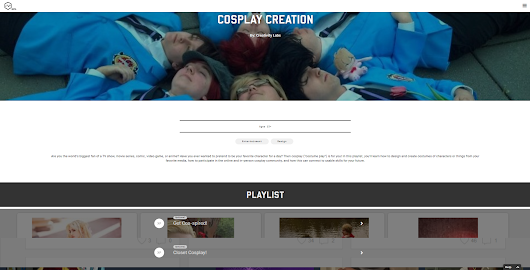 Final Project: Cosplay Playlist!